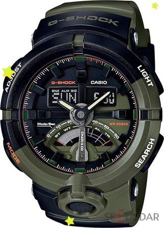 Ceas Casio G-Shock GA-500K-3A Antimagnetic Hyper Colors Barbatesc de Mana Original