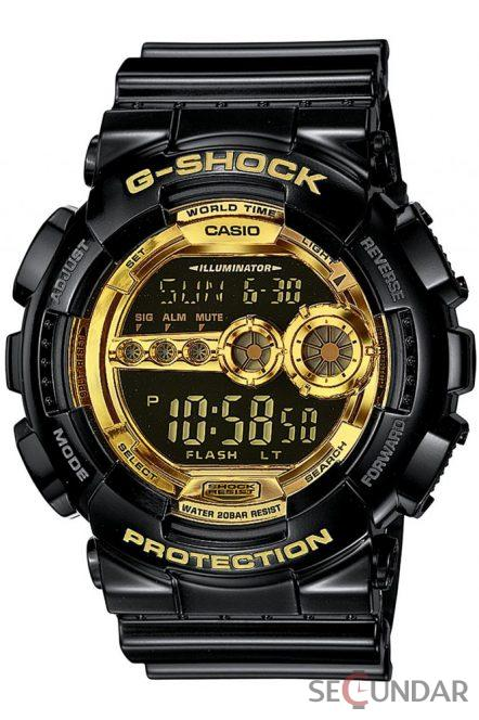 Ceas Casio G-Shock GD-100GB-1E Barbatesc de Mana Original