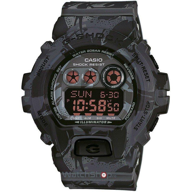 Ceas Casio G-Shock GD-X6900MC-1ER Military Cloth de Mana Original Pentru Barbati
