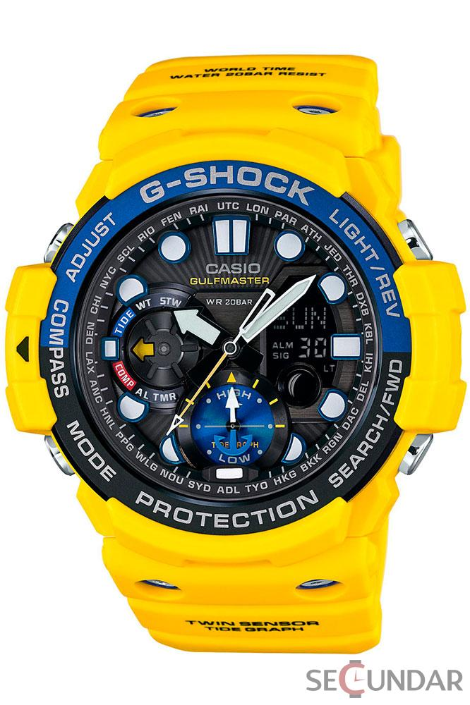 Ceas Casio G-Shock GN-1000-9A Extra Large Black Barbatesc de Mana Original
