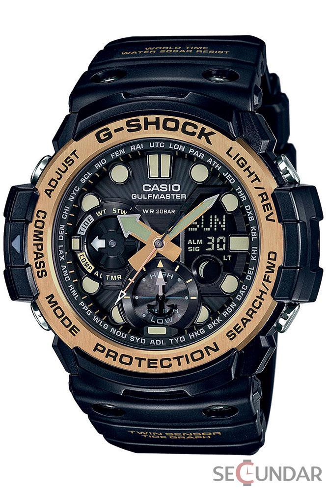 Ceas Casio G-Shock GN-1000GB-1A Extra Large Black Barbatesc de Mana Original