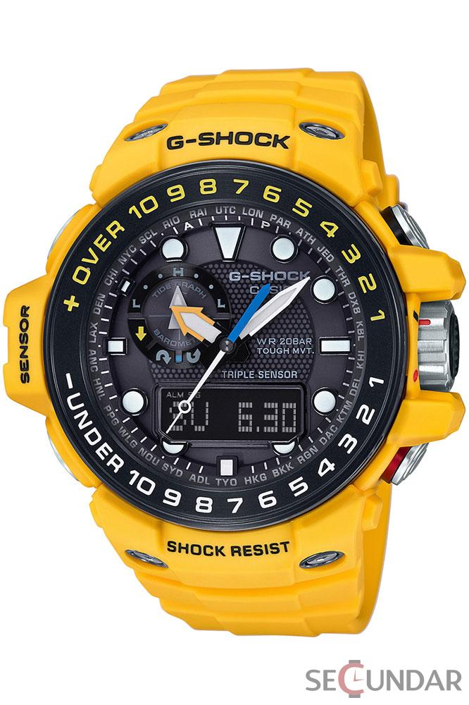Ceas Casio G-Shock GWN-1000H-9A Black Analog Digital Multi-Function Barbatesc de Mana Original