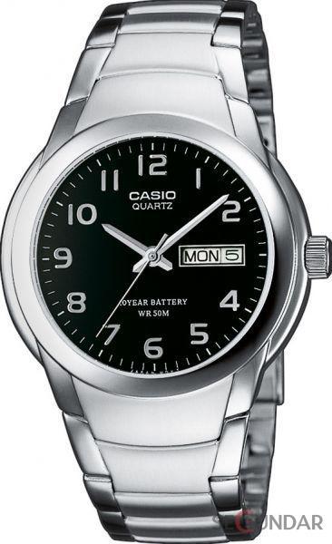 Ceas Casio MTP-1229D-1AVDF Clasic Standard Silver Barbatesc de Mana Original