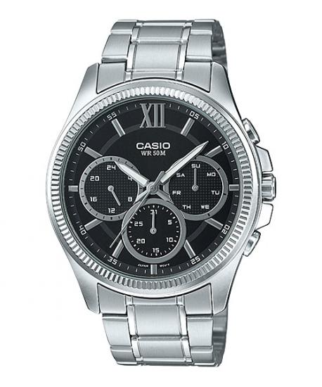 Ceas Casio MTP-E315D-1AVDF Clasic Barbatesc de Mana Original
