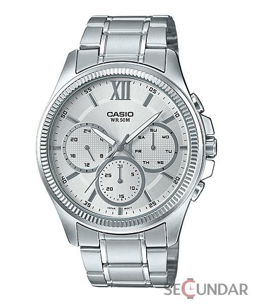 Ceas Casio MTP-E315D-7AVDF Clasic Barbatesc de Mana Original