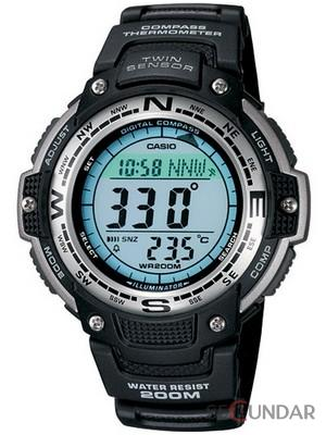 Ceas Casio SGW-100-1VDF Digital Compass Twin Sensor Sport Barbatesc de Mana Original