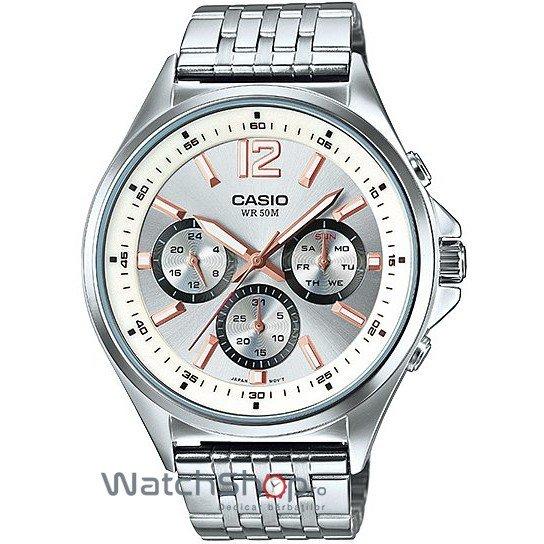 Ceas Casio SPORT MTP-E303D-7AVDF de Mana Original Pentru Barbati
