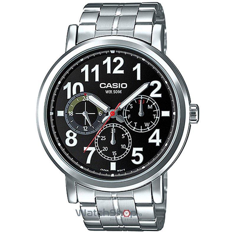 Ceas Casio SPORT MTP-E309D-1A de Mana Original Pentru Barbati