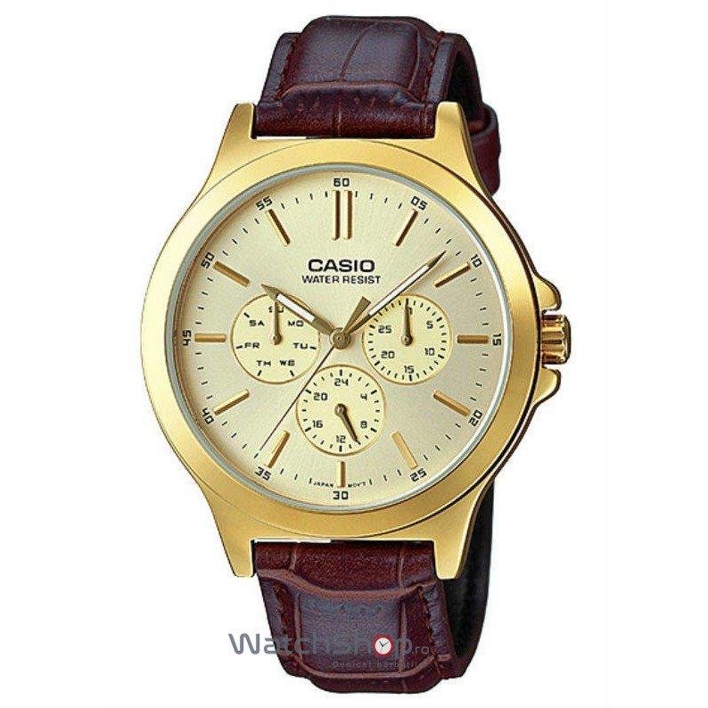 Ceas Casio STANDARD MTP-V300GL-9AUDF de Mana Original Pentru Barbati