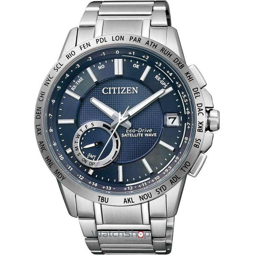 Ceas Citizen ELEGANT CC3000-54L Satellite Wave Eco-Drive GPS original barbatesc