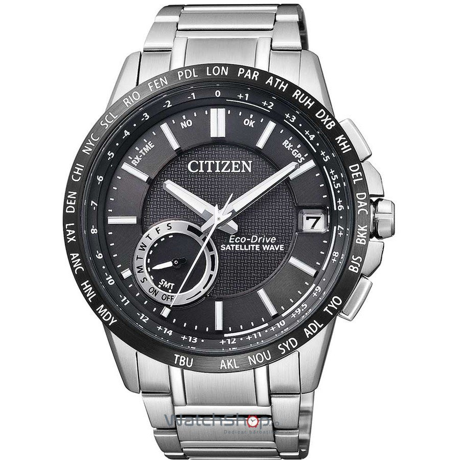 Ceas Citizen ELEGANT CC3005-51E Satellite Wave Eco-Drive GPS original barbatesc