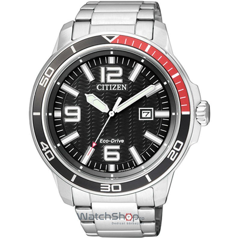 Ceas Citizen MARINE AW1520-51E Eco-Drive original barbatesc