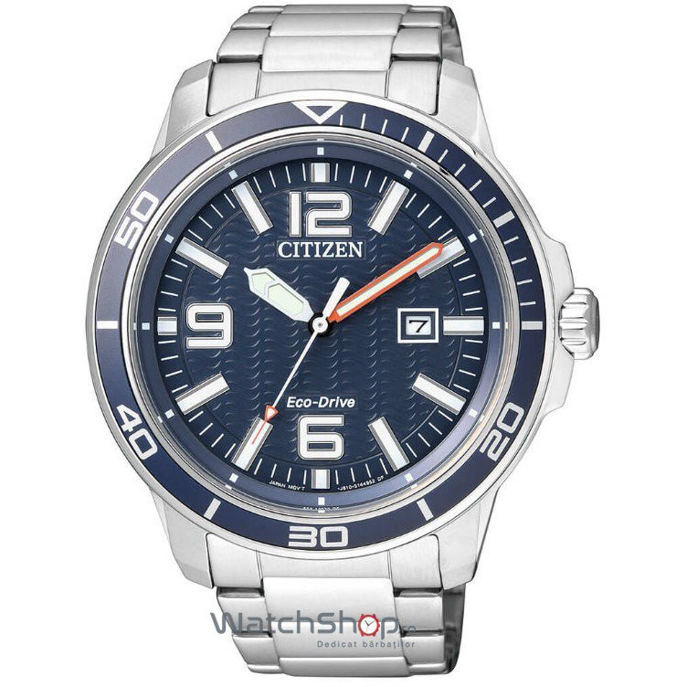 Ceas Citizen MARINE AW1520-51L Eco-Drive original barbatesc