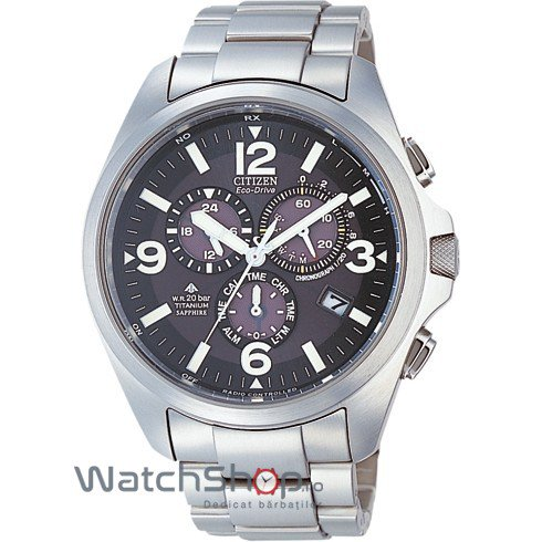 Ceas Citizen PROMASTER LAND AS4030-59E Eco-Drive Radiocontrolled original barbatesc
