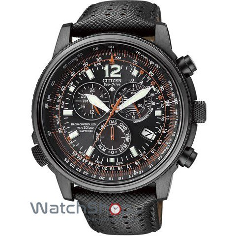 Ceas Citizen PROMASTER SKY AS4025-08E Eco-Drive Chrono Radiocontrolled original barbatesc