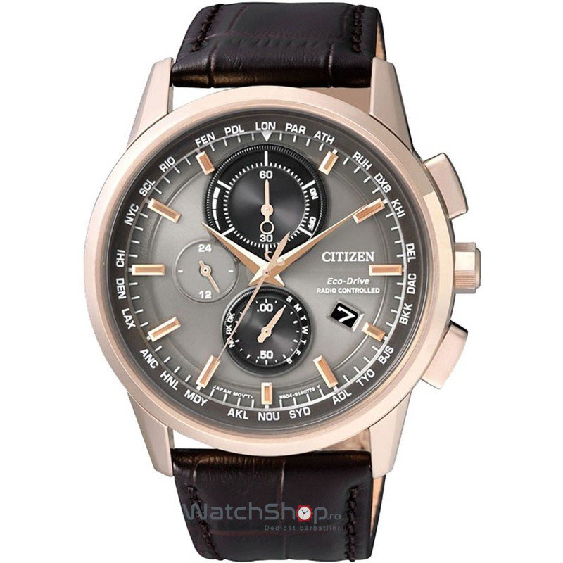 Ceas Citizen SPORT AT8113-12H Eco-Drive Radio Controlled original barbatesc