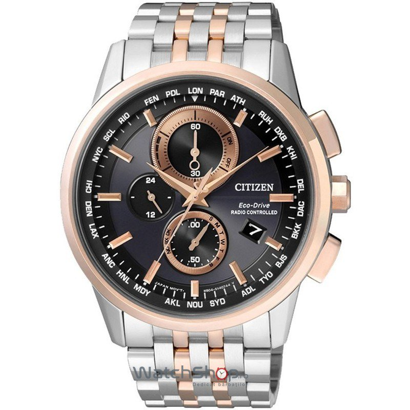 Ceas Citizen SPORT AT8116-65E Eco-Drive Radio Controlled original barbatesc