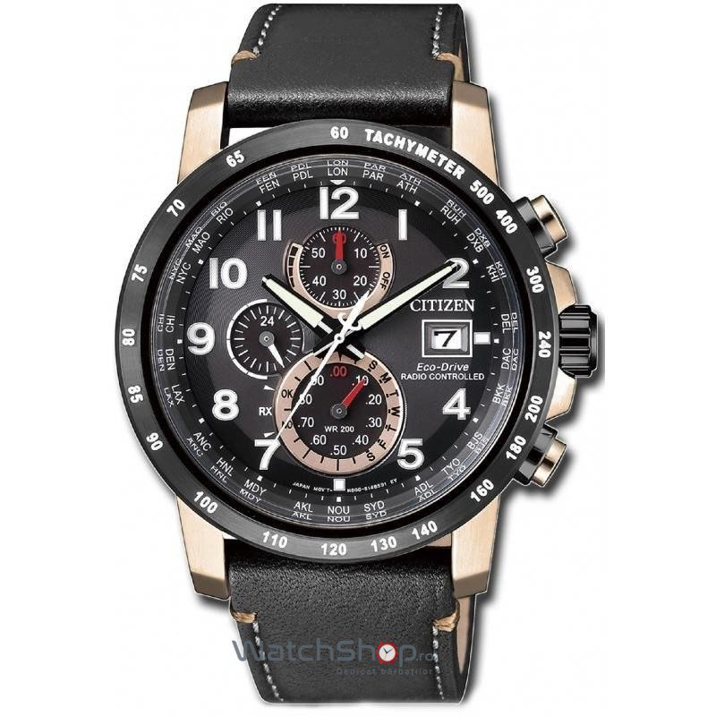 Ceas Citizen SPORT AT8126-02E Eco-Drive Sport Radio Controlled original barbatesc