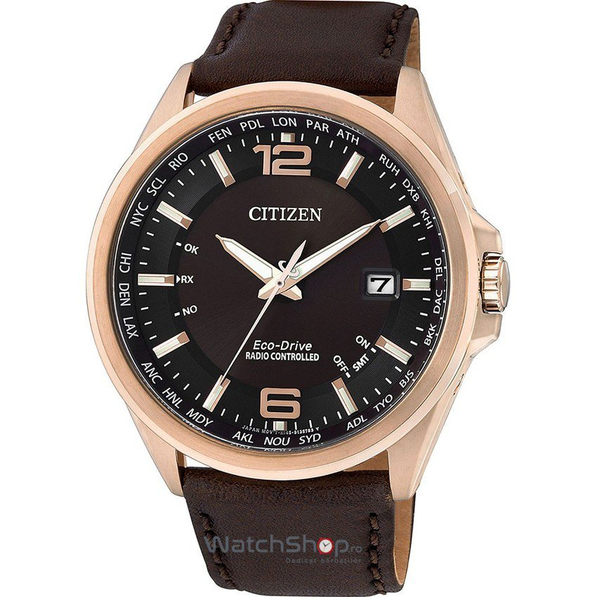 Ceas Citizen SPORT CB0017-03W Eco-Drive Radiocontrolled original barbatesc