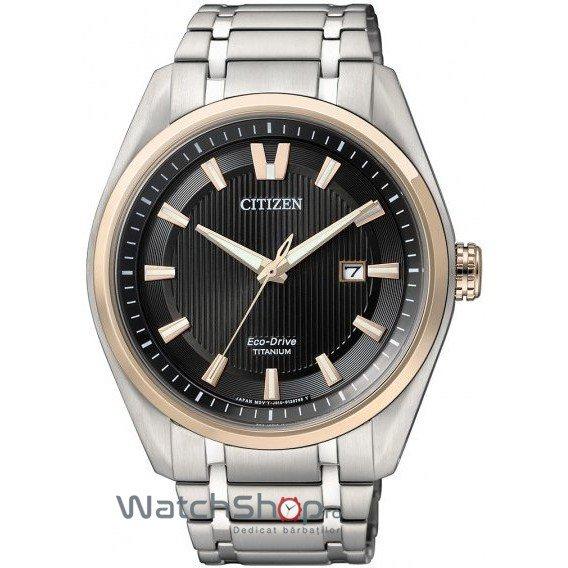 Ceas Citizen TITANIUM AW1244-56E Eco-Drive original barbatesc