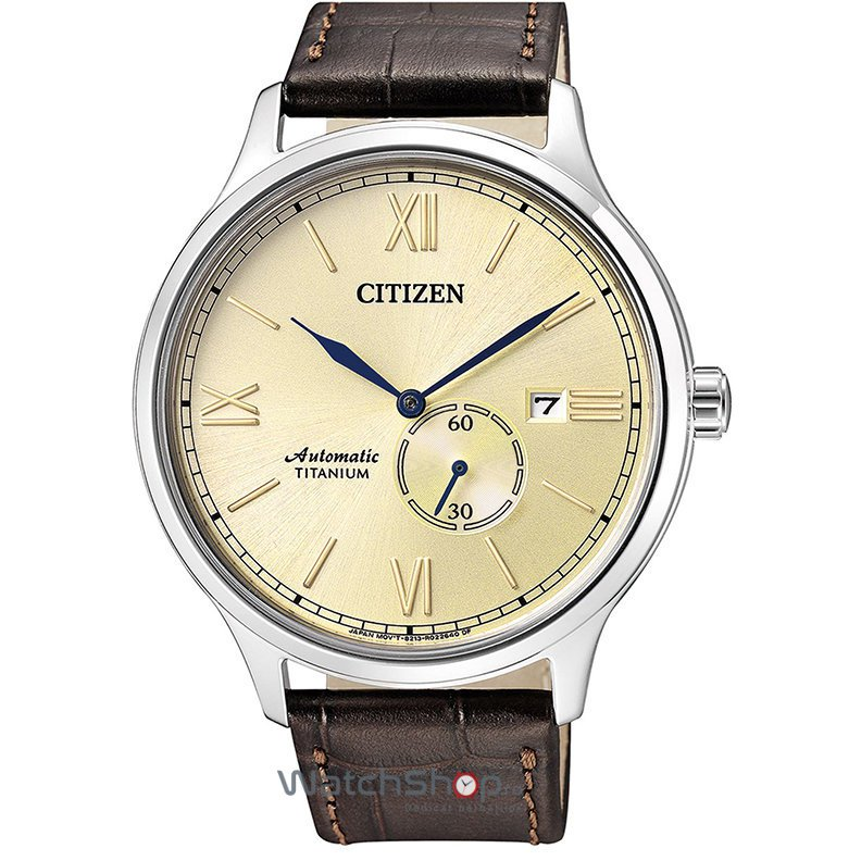 Ceas Citizen TITANIUM NJ0090-13P Automatic original barbatesc