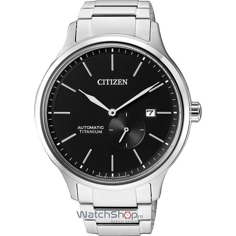 Ceas Citizen TITANIUM NJ0090-81E Automatic original barbatesc