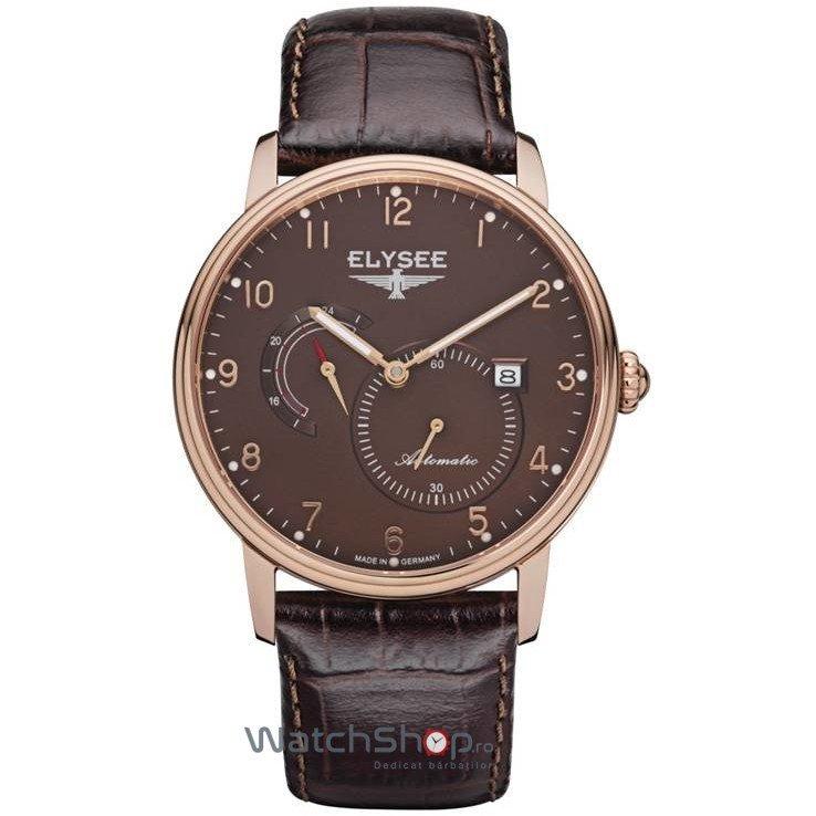 Ceas Elysee PRIAMOS 77017B Automatic Barbatesc Original de Lux