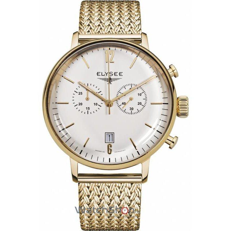 Ceas Elysee STENTOR 13273M Cronograf Barbatesc Original de Lux