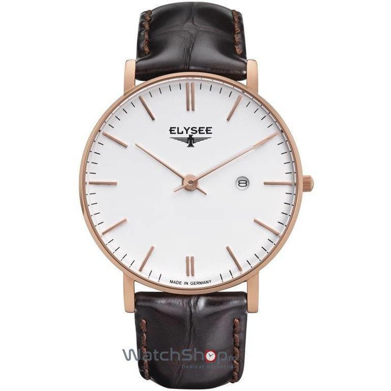 Ceas Elysee ZELOS 98004M Barbatesc Original de Lux