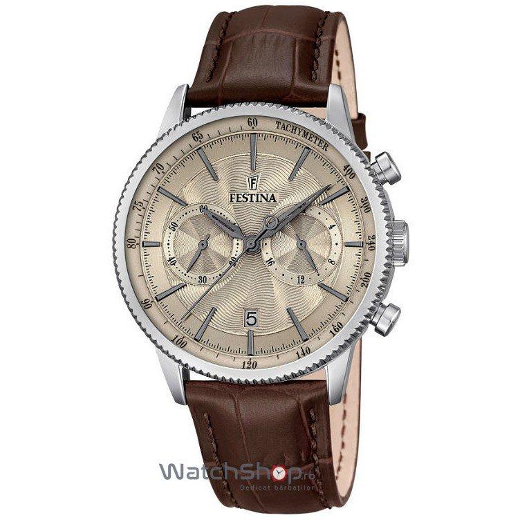 Ceas Festina CLASSIC F16893/3 Cronograf original barbatesc