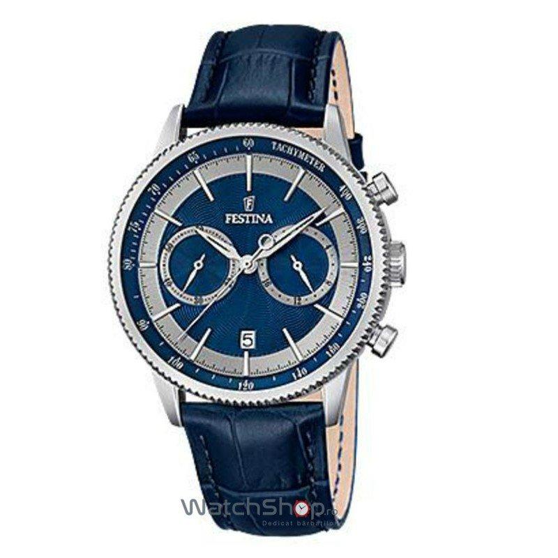 Ceas Festina CLASSIC F16893/6 Cronograf original barbatesc