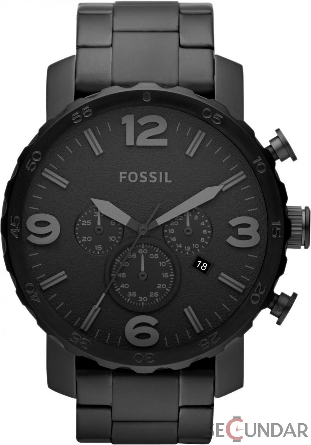 Ceas Fossil JR1401 Nate Chronograph Barbatesc de Mana Original