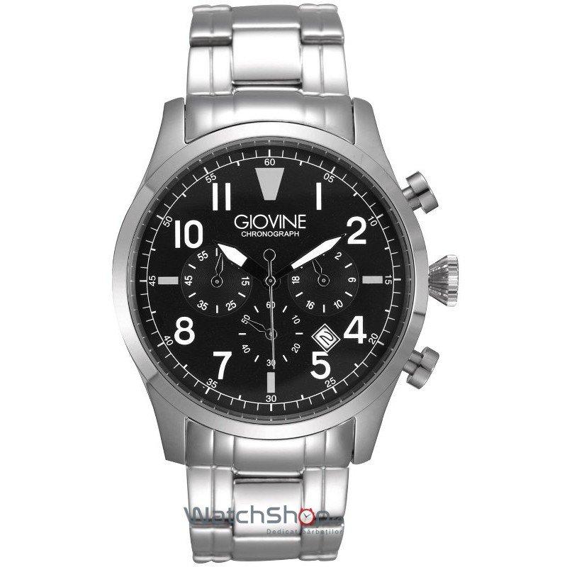 Ceas Giovine TORNADO OGI001/C/MB/SS/NR Cronograf Barbatesc Original de Lux