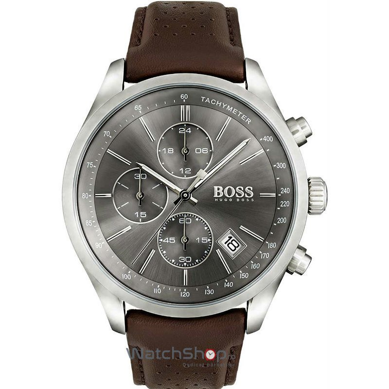Ceas Hugo Boss GRAND-PRIX 1513476 Chronograph Barbatesc Original de Lux