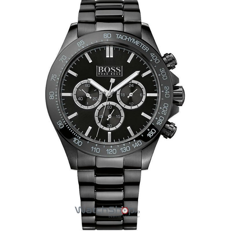Ceas Hugo Boss SPORTS 1512961 Ikon Chronograph Barbatesc Original de Lux
