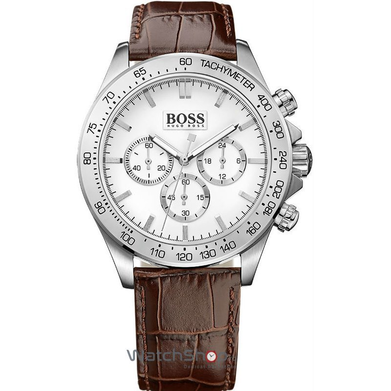 Ceas Hugo Boss SPORTS 1513175 Ikon Chronograph Barbatesc Original de Lux