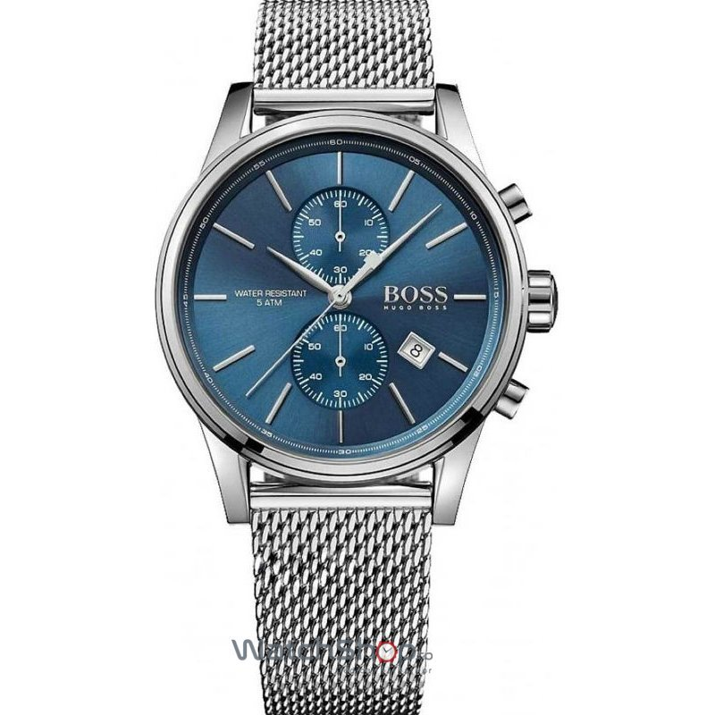 Ceas Hugo Boss SPORTS 1513441 Jet Chronograph Mesh Barbatesc Original de Lux