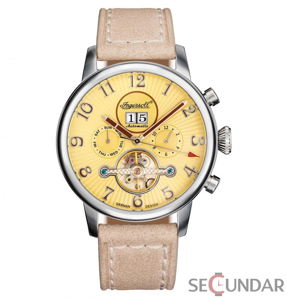 Ceas Ingersoll Herren-Armbanduhr-IN1103SCR Barbatesc de Mana Original