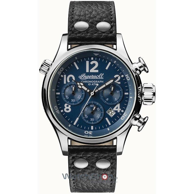 Ceas Ingersoll THE ARMSTRONG I02001 Cronograf original barbatesc