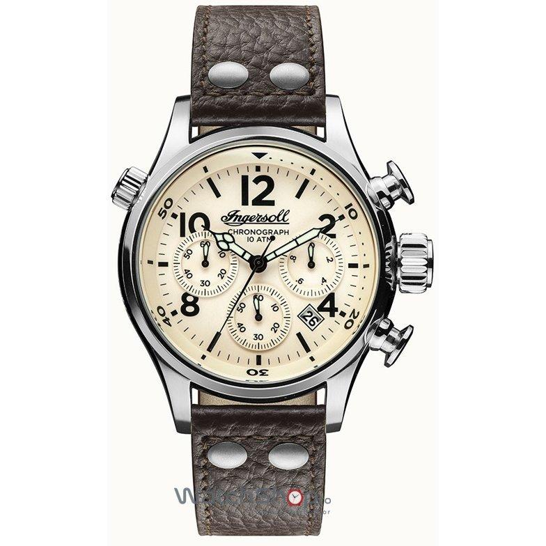 Ceas Ingersoll THE ARMSTRONG I02002 Cronograf original barbatesc