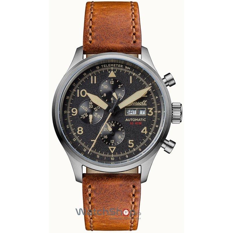 Ceas Ingersoll THE BATEMAN I01902 Automatic original barbatesc
