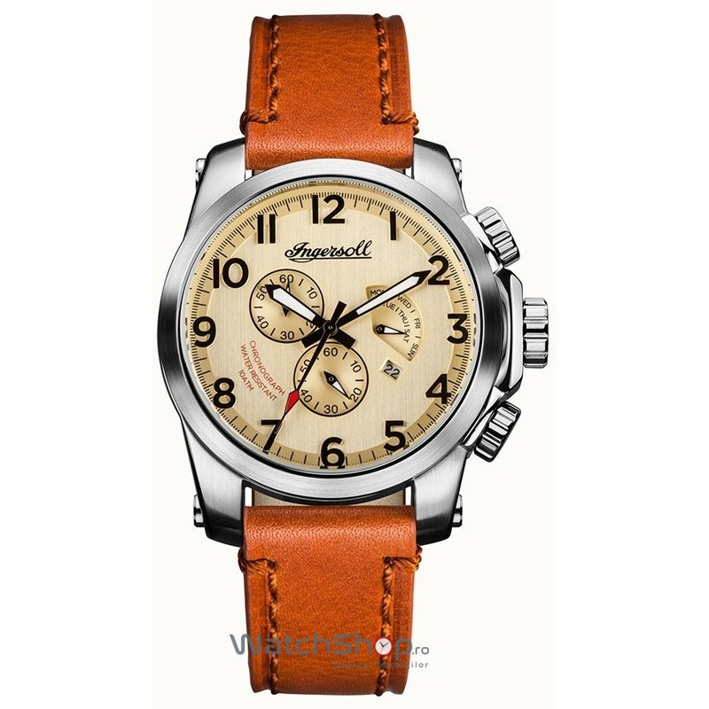 Ceas Ingersoll THE MANNING I03001 Cronograf original barbatesc