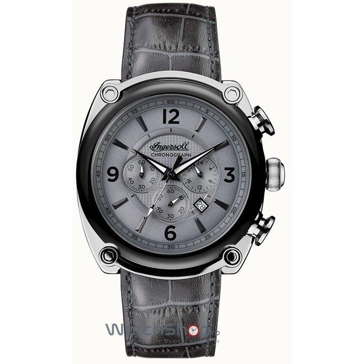 Ceas Ingersoll THE MICHIGAN I01201 Cronograf original barbatesc