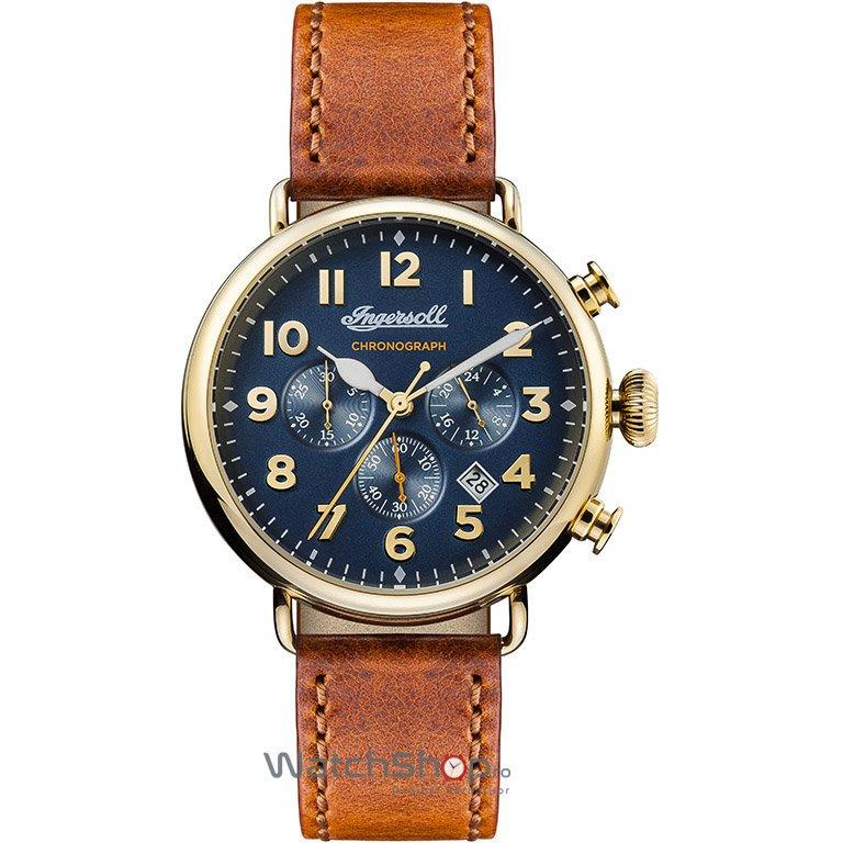 Ceas Ingersoll THE TRENTON I03501 Cronograf original barbatesc