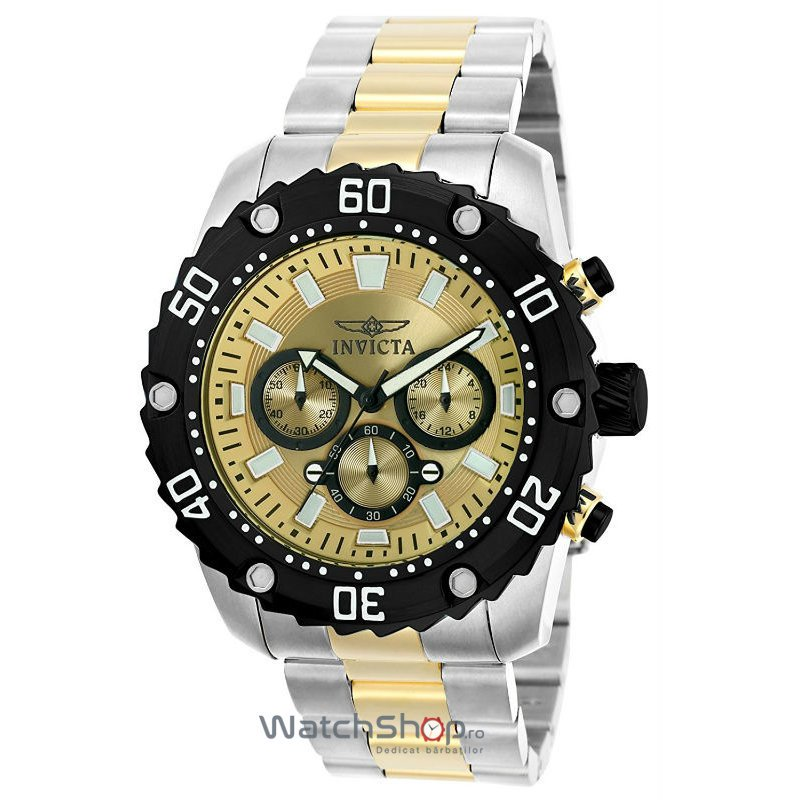 Ceas Invicta PRO DIVER 22519 Cronograf Barbatesc Original de Lux
