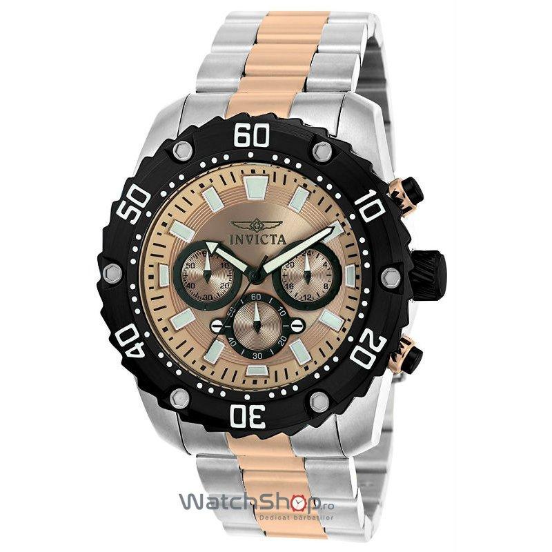 Ceas Invicta PRO DIVER 22520 Cronograf Barbatesc Original de Lux