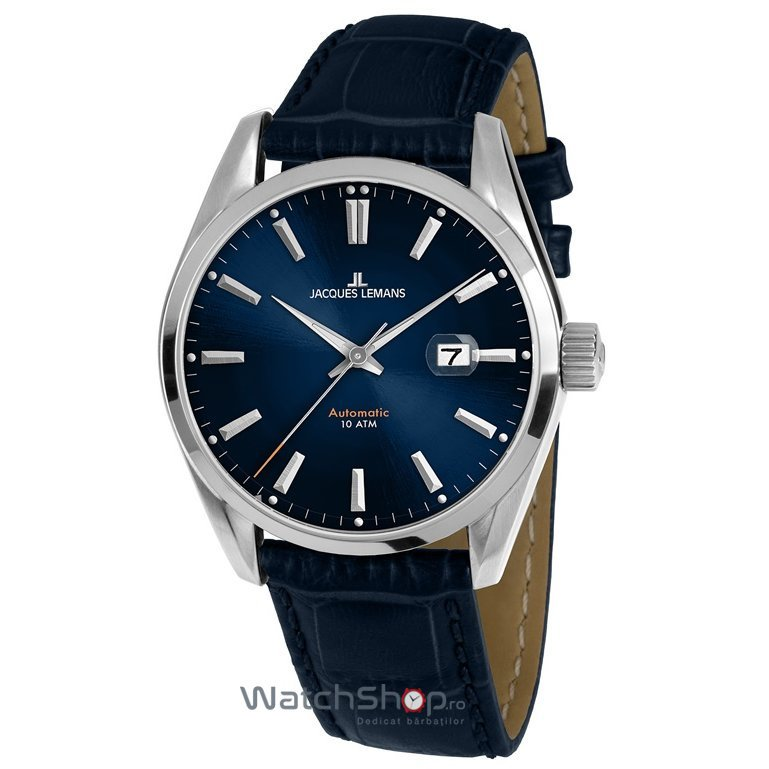 Ceas Jacques Lemans DERBY 1-1846B Automatic Barbatesc Original de Lux