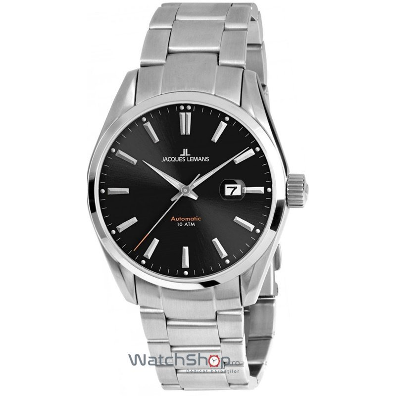 Ceas Jacques Lemans DERBY 1-1846D Automatic Barbatesc Original de Lux