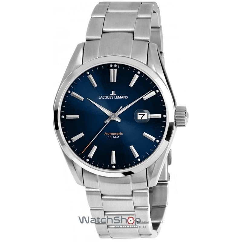Ceas Jacques Lemans DERBY 1-1846E Automatic Barbatesc Original de Lux