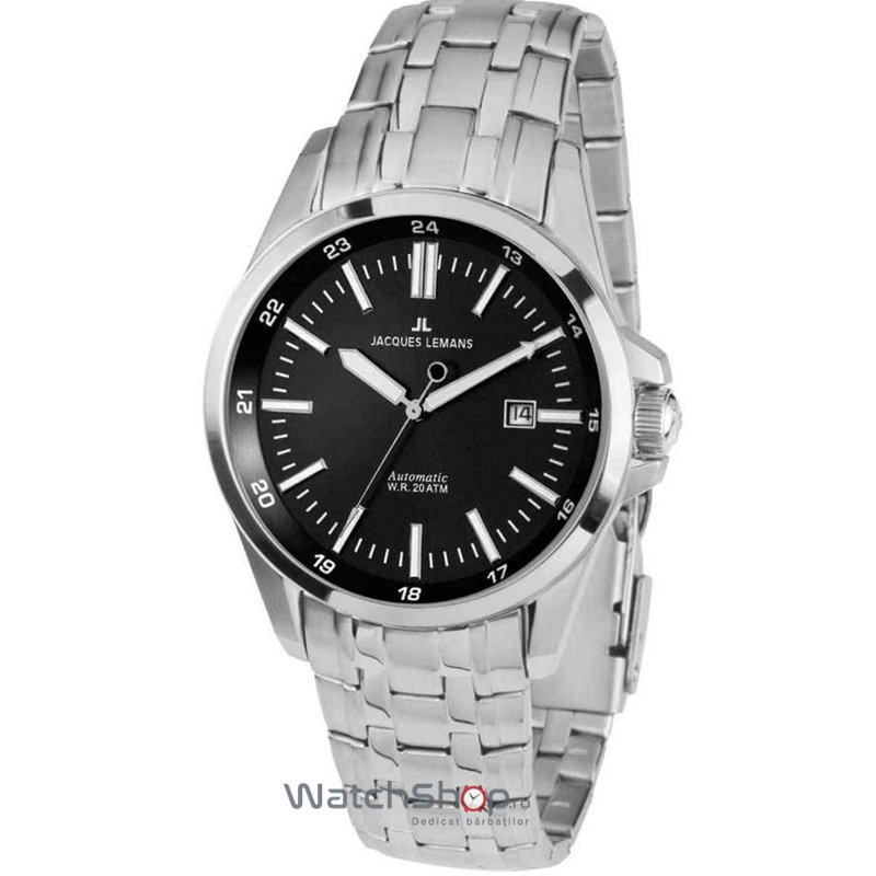 Ceas Jacques Lemans LIVERPOOL 1-1869C Automatic Barbatesc Original de Lux